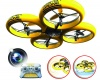 Dron na dálkové ovládání s HD kamerou a voděodolným tělem, kterému nevadí nárazy!