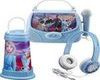 Set sluchátka, svítilna, karaoke box s mikrofonem FROZEN II