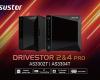 Lockerstor 2 a Lockerstor 4 - Výkonné NAS servery s dvěma 2,5Gb ethernetovými porty a HDMI 2.0a