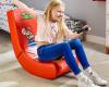 Herní židle of firmy xRocker s licencí Nintendo