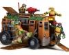 Kompletní nabídka figurek Želv ninja s různými zbraněmi, auty a v různých velikostech