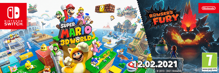 CZ Super Mario 3D World + Bowser